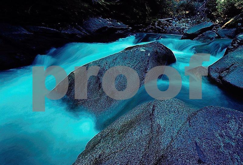 White River Falls near Leavenworth, WA.