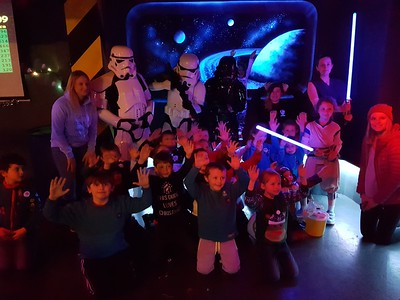 2017-12-15 Beavers & Cubs at Laser Quest Newcastle