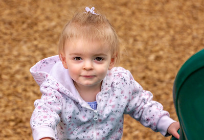 Granddaughter Hailey - 23 months old