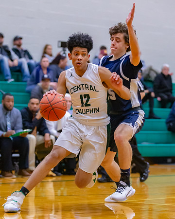 2020-01-27 | Boys HSBB | Central Dauphin vs. Chambersburg