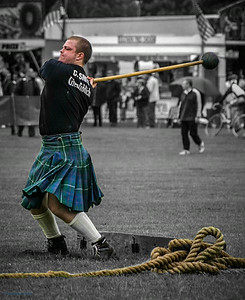 Alva Highland Games 2001
