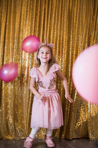 Pink and Gold Unicorn Dress
