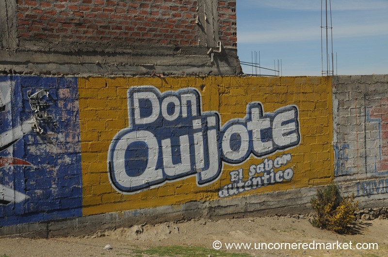 Don Quijote Cola? Peru