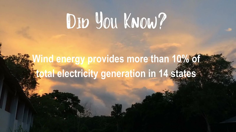 Wind energy provides more than 10% of total electricity generation in 14 states.mp4