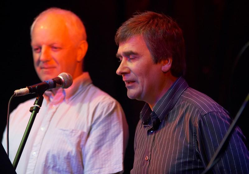 Bill Corlett and Phil Gawne