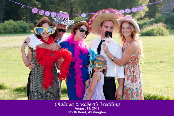Chakrya & Rob Wedding Photobooth