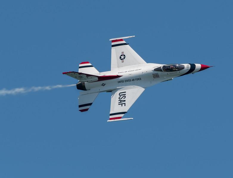 USAF Lead Solo #5 Maj Whit Collins