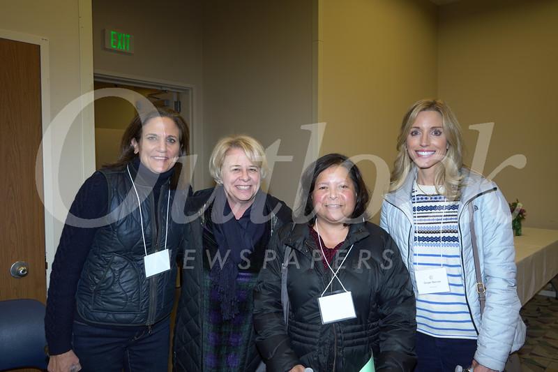 Michele Carter, Beth Davis, Rachel Fall and Ginger Bercaw