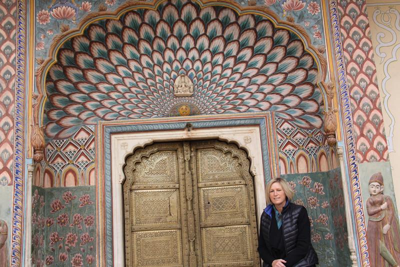 doorway in City Palace