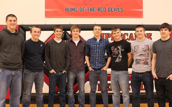 THS - Wrestlers 2012