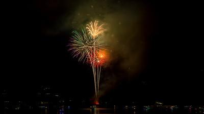 2017 Fireworks Lake Glenville