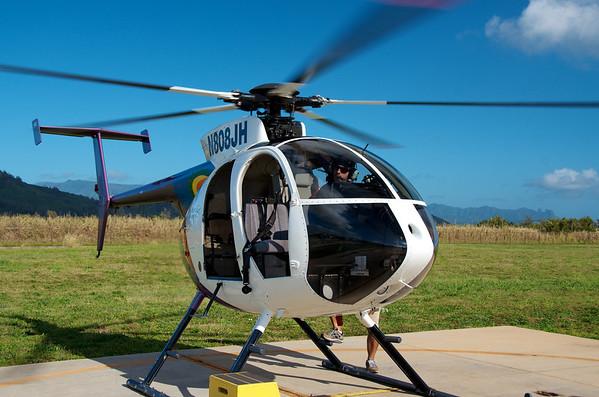 Kaua'i Helicopter Trip