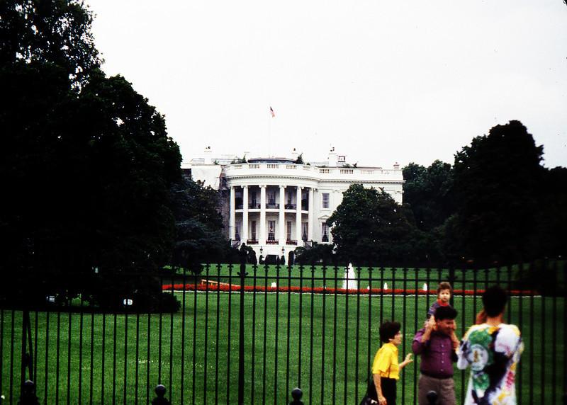Washington D.C. The White House