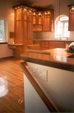 Hammer residence: kitchen