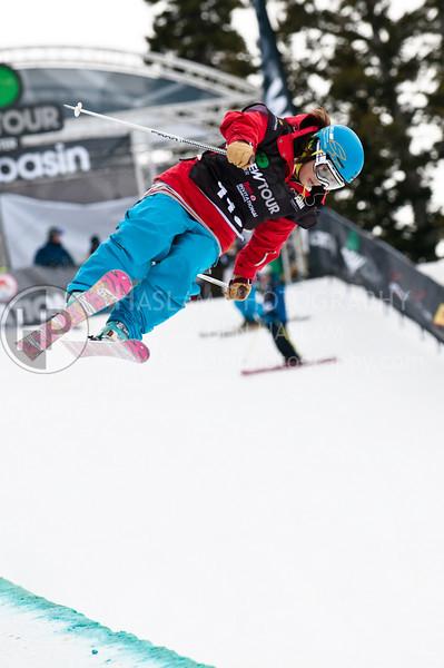 2010 Winter Dew Tour - Womens Ski Superpipe