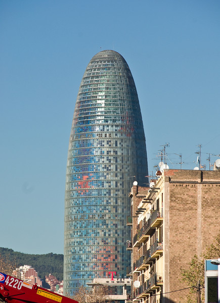 Torre Agbar in Barcelona. (Dec 12, 2007, 01:13pm)