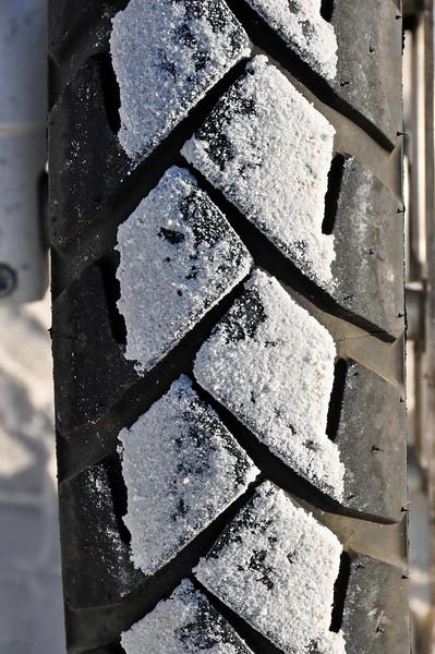 White Sand on black tires.
