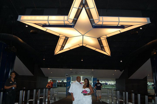 Renewing Our Vows in Cowboy Stadium