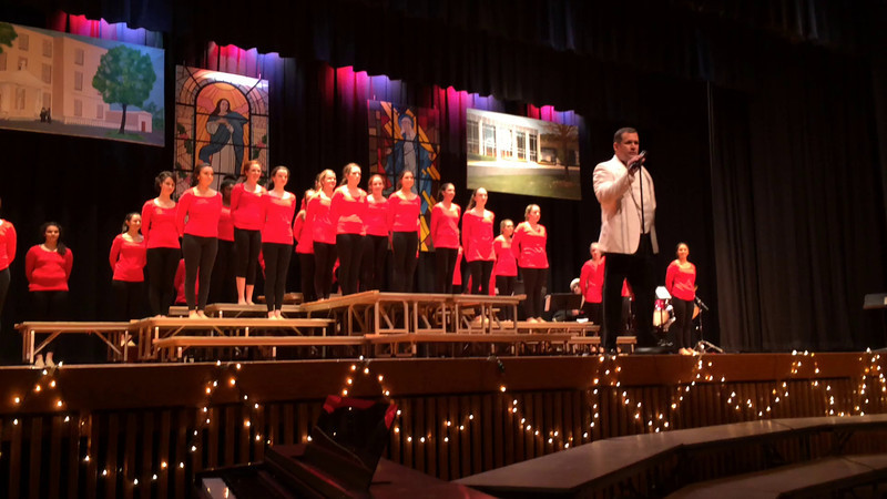 Mercy High Christmas Concert Video's