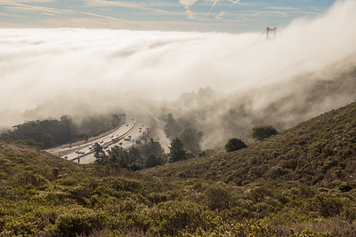 before Golden Gate Half Marathon