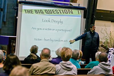 Mar 2015 -  Parish Mission by Fr Desiderio - The Big Question