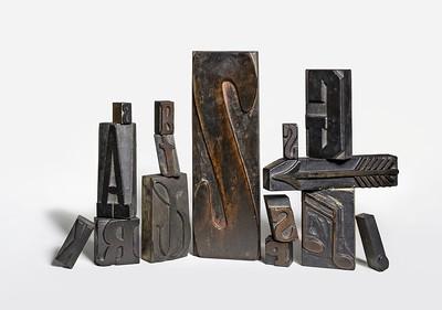 Wood types - Caratteri di legno