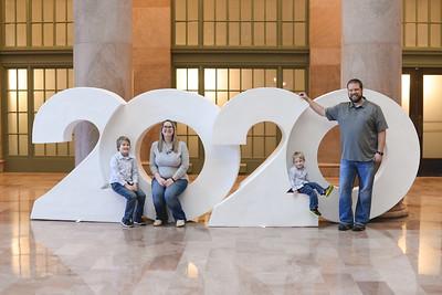Christopherson Family 2020