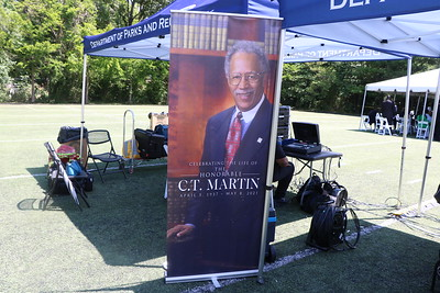 C.T. Martin's Funeral Service w/Chairman Pitts