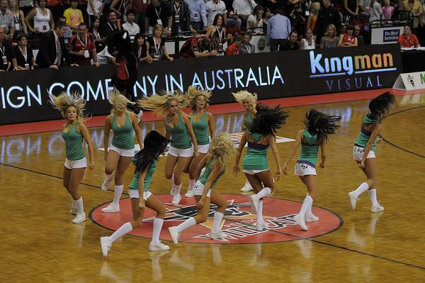 PerthsWildcats  vs Tigers 14/02/2009