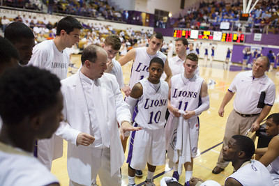 UNA Basketball vs UAH 02/23/12