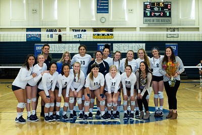 2019 HIU Womens Volleyball