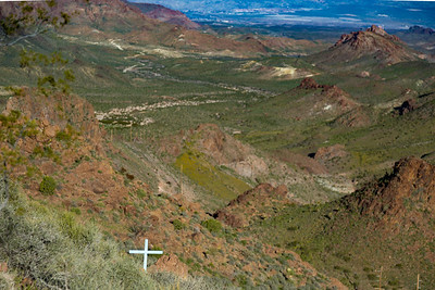Sitgreaves Pass Kingman to Oatman az.