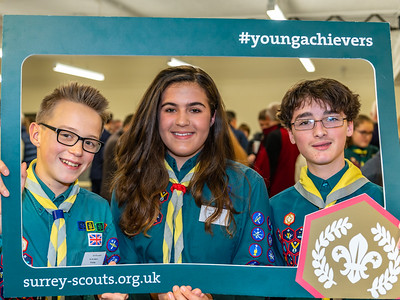 Chief Scout's Gold Award Presentation - Reigate 2018