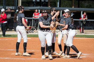 YCHS Varsity Softball vs Blue Ridge High School