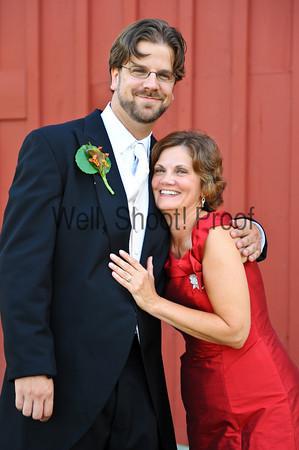 Brides Family - Barn Portraits