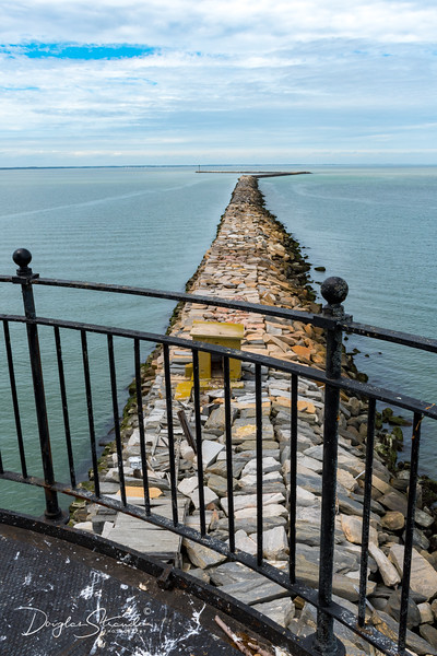 The Breakwater seen from inside the Lighthouse