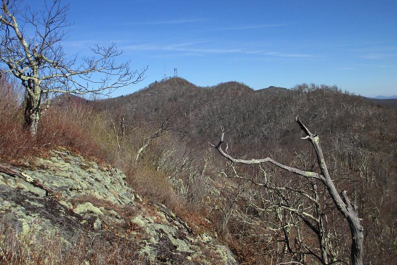 Beech Knob & Fryingpan Mountain, Haywood County (2-3-15)