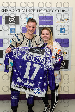 Christmas 2017 jersey auction