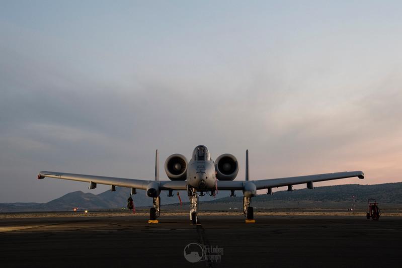 A-10C Thunderbolt II at Dawn