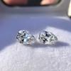 2.49ctw Antique Pear Diamond Pair GIA E VS2/GIA D VS2 22