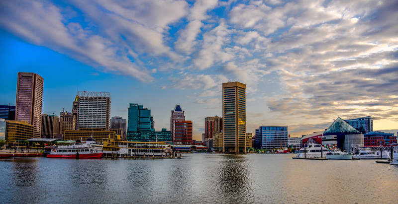 Baltimore Inner Harbor 2015