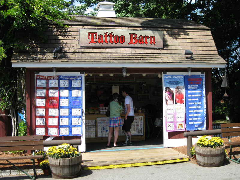 Tattoo Barn.