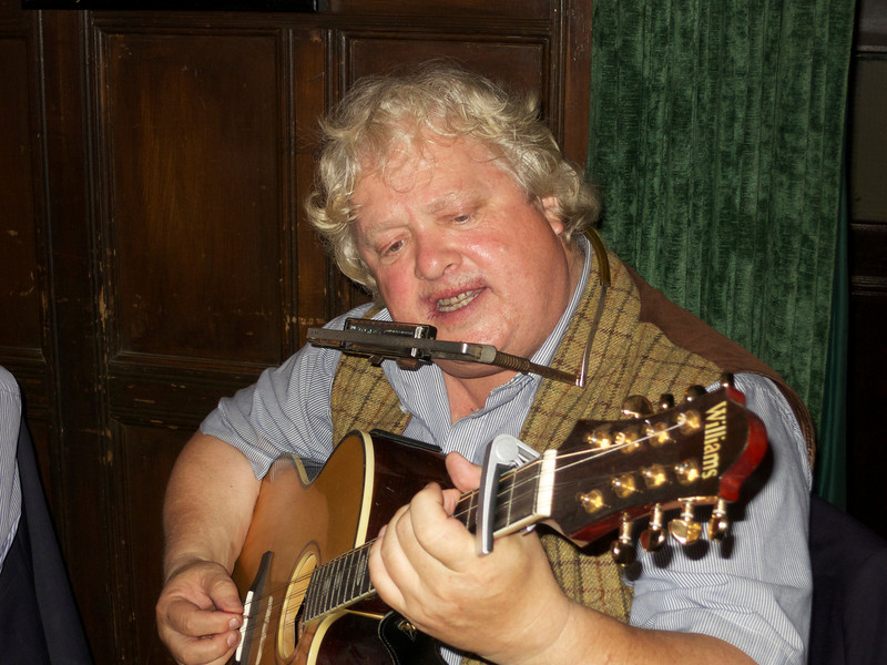 Brian Burke sings the Ballad of Jean du Pré, the title of a film some of us made while at Downside.
