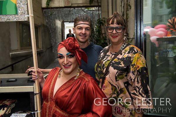 Juanita More's Pride Party 2017