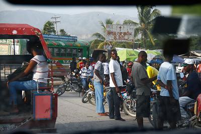 Landing in HAITI