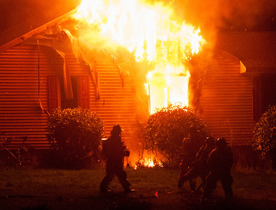 2 Alarm Structure Fire - 199 Highmeadow Rd,  Watertown, CT - 10/17/14