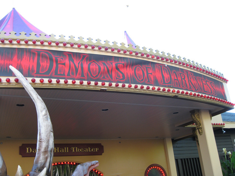 Demons of Darkness marquee.