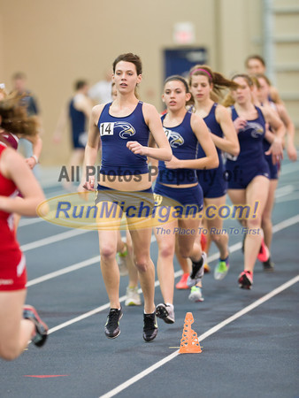 Women's 3K - 2012 WHAC Indoor Finals