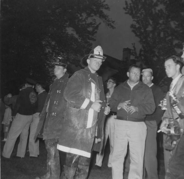 Drill - house burning Commerce Lane