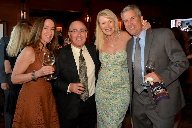 Ellen and Rob Halligan, Nicole Valencic and Norm Augustine.jpg